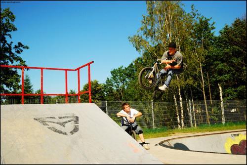 Skatepark Bielsko-Biała, Błonie