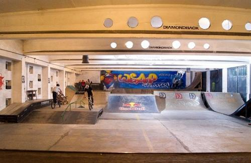 Skatepark Garaż