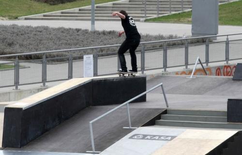 Skatepark przy Ergo Arenie