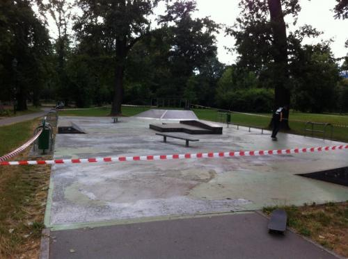 Skatepark w Krakowie - Park Jordana