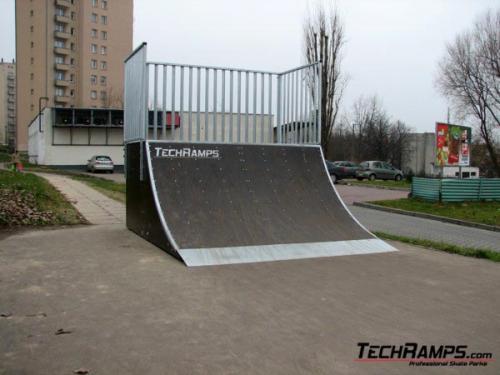 Skatepark Kraków ul. Jagiełły