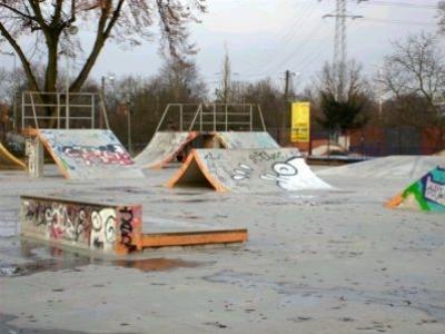 Skatepark MOSiR w Szczecinie